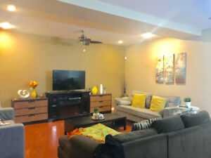 1 Br / 1 bath basement suite upscale home for rent