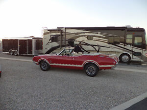 1969 Candy Apple Red Convertible