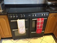 Belling cooker/oven x2/ grill and heat in drawer