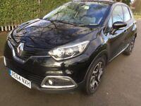 Renault Captur Dynamique Nav dCi 90 Good / Bad Credit Car Finance (black) 2014