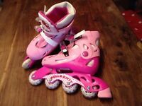 Hello Kitty roller skates