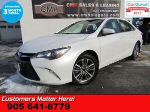2015 Toyota Camry SE  CAMERA, BLUETOOTH, SPORT SEATS, ALLOYS, SP