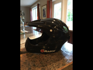 Youth XL full face bicycle helmet