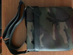 Selling Brand New Camo Coach Side Bag