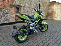 Benelli TnT 125cc Naked Street Bike Learner Legal Pit Mini Bike Fun Motorcycl...