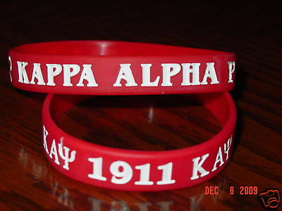 Kappa Alpha Psi Fraternity Wristbands