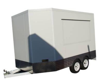 Tandem Food Van Trailer 4.4 Meter Long