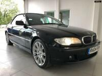 2004 BMW 3 SERIES 330CI SE Black Auto Petrol