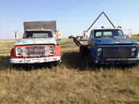 Two Tandem Trucks For Sale