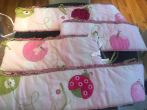 Bumpers cor crib and accessories