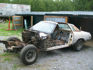 "1975 Century ""Indy Pace Car""  rolling shell for restoration.."