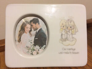 Precious Moments - Our marriage was made in heaven - Frame