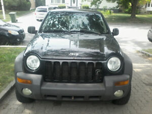 Jeep liberty renegate 2002