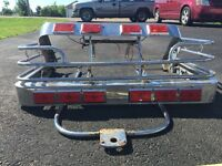 Light bars and trailer hitch for Honda Interstate