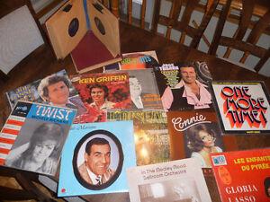 Disques Vinyle 33/45/78 tours