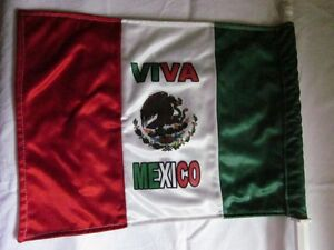 New MEXICO WORLD CUP SOCCER CAR FLAG - Awesome!!!