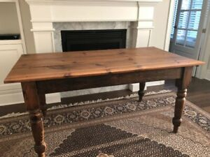 Stunning Antique wood table - $500