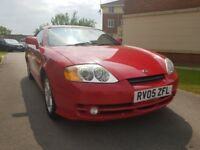 Hyundai Coupe S (red) 2005
