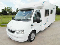 Geist Touring 65 - 4 Berth - Low Profile Motorhome - Rear Fixed Bed