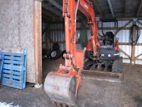 Great deal Kubota KX 161-3 excavator, rare find, low hrs