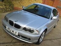 BMW 320 2.2 2002 Ci SE 115K From New, One Previous Keeper FSH