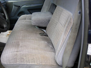 Old Body Style Ford BENCH SEAT - Blue XLT