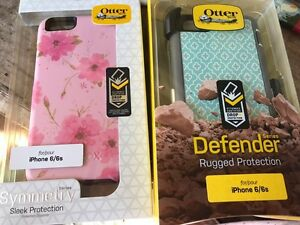 2 iPhone 6/6s otterBox cases. Unopened.
