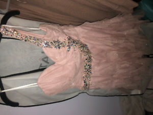 Beautiful XL champagne pink dress