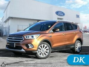 2017 Ford Escape Titanium **Qualifies For New Vehicle Incentives