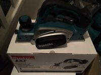 Makita 18v planer new in the box !!!