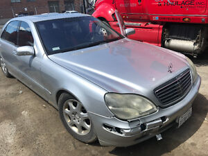2001 Mercedes-Benz S-Class (new Starter needed)
