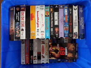 50+ VHS Movies! Great Condition!
