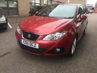 2011 Seat Ibiza 1.2 SportCoupe DSG Sport 36K 1 Lady Owner