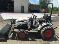 BOBCAT COMPACT TRACTOR
