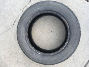 """USED TIRES - TWO 15"""" ALL SEASON. P195/60R15"""