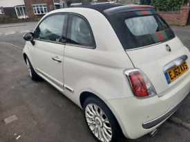 62 FIAT 500 by GUCCI CONVERTIBLE AUTO