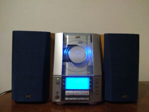 JVC FS-V30 Micro Audio System with CD Player, AM/FM Tuner