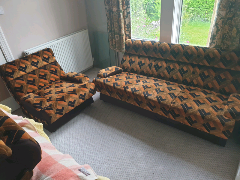 Pleasing Retro 1960S 1970S Sofa And Chairs Mid Century In Helensburgh Argyll And Bute Gumtree Gmtry Best Dining Table And Chair Ideas Images Gmtryco