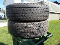 p235/70/16 inch all season tires / GOOD DEAL