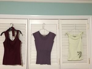Women's tops and casual suit, xs-s, excellent condition