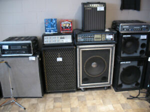 Bass guitar amps for sale