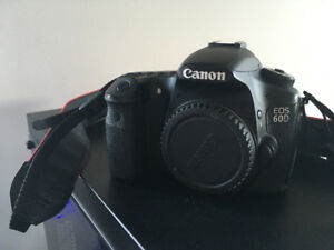 Canon 60D with 18-55 EF-S lens