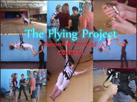 support The Flying Project and get free reflexology