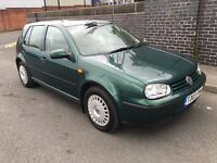 Volkswagen Golf 1.9 tdi automatic 79000 miles low mileage £995