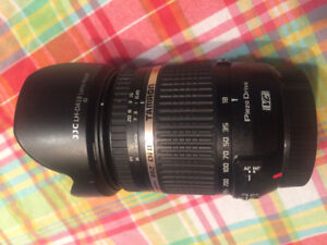 Tamron 18-270mm Lens for Canon