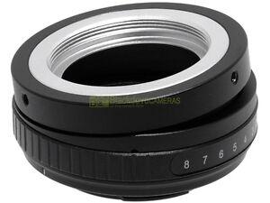 Adapter-TILT-basculante-x-obiettivi-a-vite-M42-su-corpi-Sony-E-Mount-ANEX