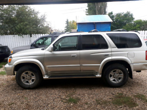 2000 toyota 4 runner limited edition nice shape