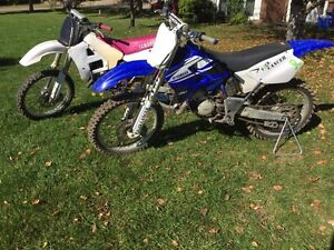 Two yz 125s