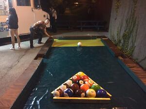 Soccer Billiard+ Foot Pool + Adult Birthday Parties.We come 2 U!
