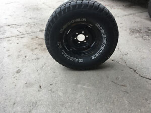 33x12.5x15 inch rims and tires